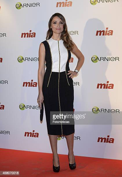 Almudena Fernandez attends the 'Cuida De Ti' charity awards ceremony at the COAM on October 29 2014 in Madrid Spain
