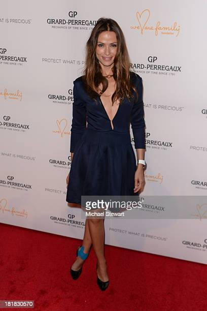 Almudena Fernandez attends the GirardPerregaux launch of the Mission of Mermaids watch with Susan and David Rockefeller to benefit Nile Rodgers' We...
