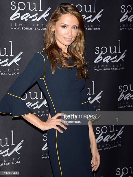 Almudena Fernandez attends the Soulbask charity rings presentation at Bumpgreen on November 30 2016 in Madrid Spain