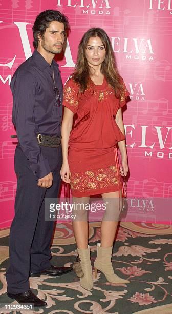 Almudena Fernandez Cameron during 2002 Telva Awards Honors Emanuelle Ungaro and Manuel Pertegaz at Hotel Palace in Madrid Spain