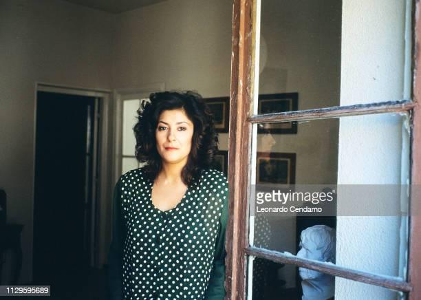 Almudena Grandes Spanish writer Madrilenian Guanda portrait novelist NardÚ Italy 11th June 1991