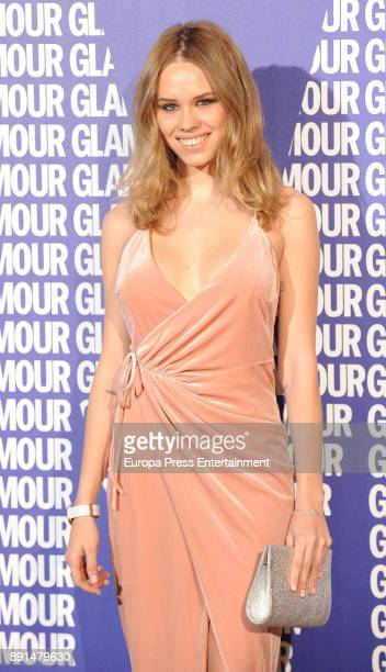 Almudena Lapique attend the Glamour Magazine Awards and 15th anniversary dinner at The Ritz Hotel on December 12 2017 in Madrid Spain