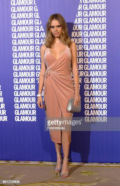 Almudena Lapique attends the Glamour Magazine Awards and 15th anniversary dinner at The Ritz Hotel on December 12 2017 in Madrid Spain