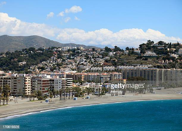 Almuneca beach and hotels