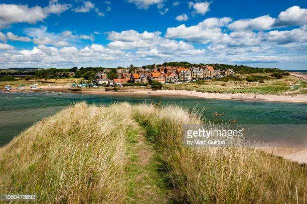 alnmouth, northumberland, england - northumberland stock pictures, royalty-free photos & images