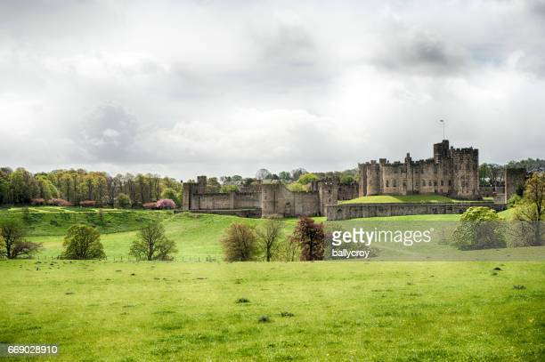 Alnwick Castle, Alnwick in Northumberland, UK