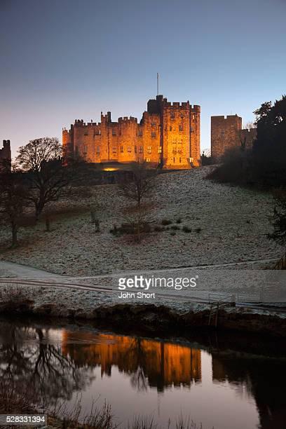 Alnwick castle; alnwick northumberland england