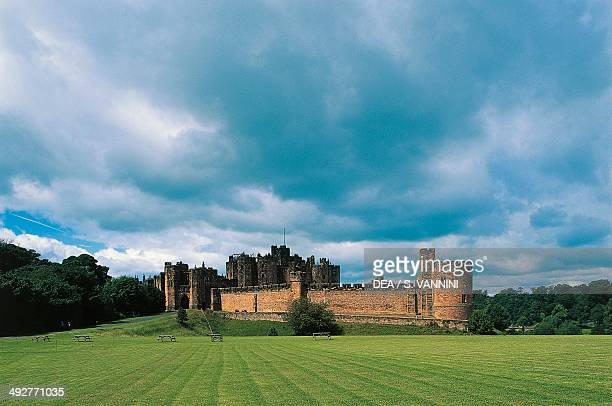 Alnwick castle England United Kingdom