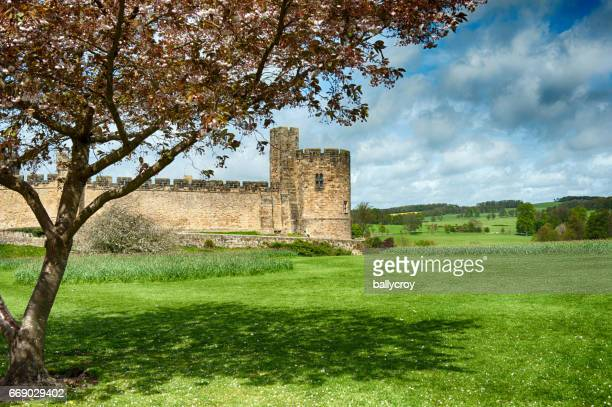 Alnwick Castle in Northumberland, UK