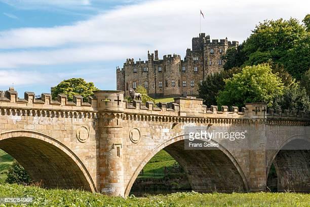 Alnwick Castle, Northumberland, England