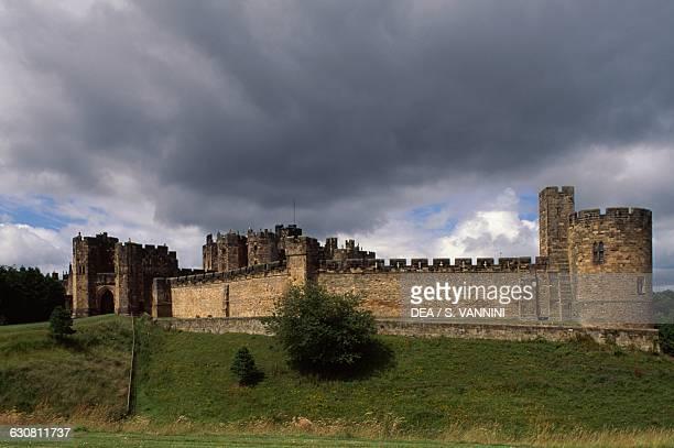Alnwick Castle Northumberland England United Kingdom 11th century