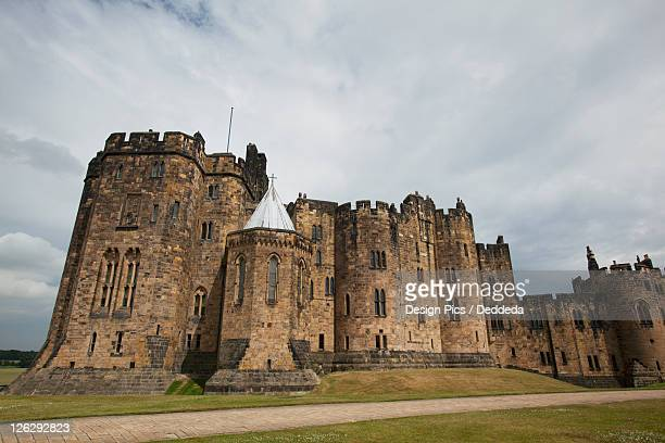 Alnwick Castle (used as a stand-in for Harry Potter's Hogwarts)