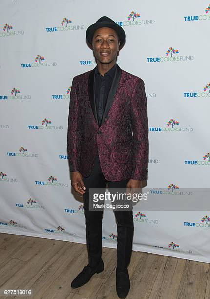 Aloe Blacc attends Cyndi Lauper's True Colors Fund 6th Annual Home For The Holidays Concert at Beacon Theatre on December 3 2016 in New York City