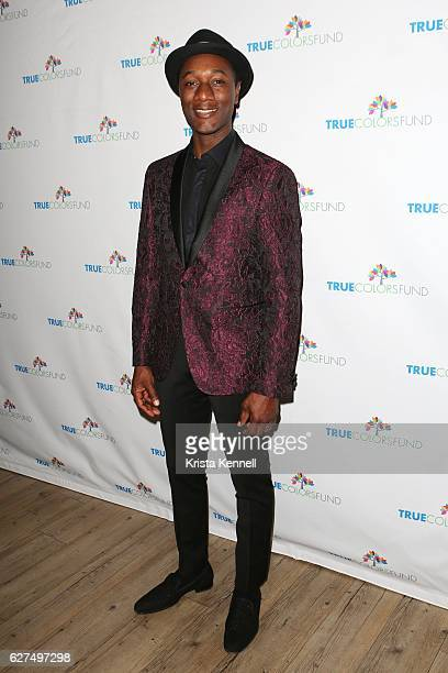 Aloe Blacc attends Cyndi Lauper's True Colors Fund Hosts 6th Annual Home For The Holidays Concert at The Beacon Theatre on December 3 2016 in New...