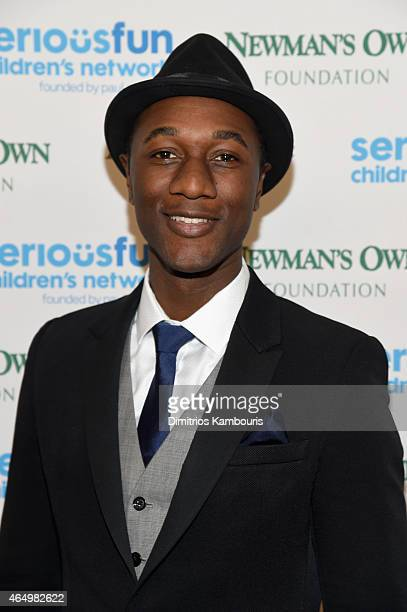 Aloe Blacc attends SeriousFun Children's Network's New York City Gala at Avery Fisher Hall Lincoln Center on March 2 2015 in New York City