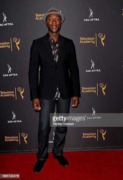 Aloe Blacc attends the Television Academy and SAGAFTRA's 4th annual Dynamic and Diverse Celebration at Saban Media Center on August 24 2016 in North...