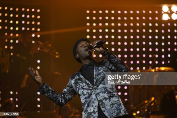 Aloe Blacc performs at the IWC Schaffhausen Gala celebrating the Maison's 150th anniversary and the launch of its Jubilee Collection at the Salon...