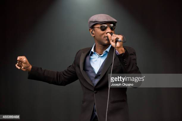 Aloe Blacc performs on Day 1 of ON Blackheath at Blackheath Common on September 13 2014 in London England