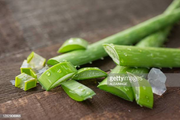 aloe vera - aloe stock pictures, royalty-free photos & images