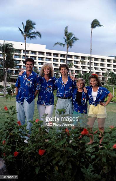PAINS 'Aloha' Season Three 9/18/87 Alan Thicke Joanna Kerns Kirk Cameron Jeremy Miller and Tracey Gold on ABC's 'Growing Pains' The misadventures of...