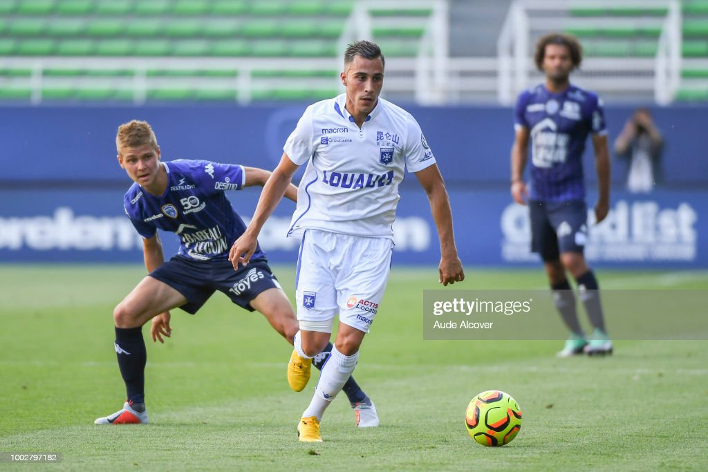 Estac Troyes v AJ Auxerre - Friendly Match