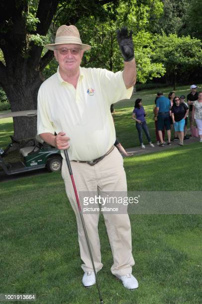 Alois Hartl President of the Quellness Golf Resort photographed during the Kaiser Cup Golf Tournament a charity event for the Franz Beckenbauer...