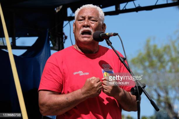Aloisio Sako president of the Oceanian Democratic Rally which is part of the independence movement within the Kanak Socialist Liberation Front...
