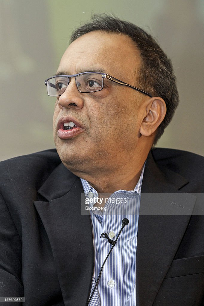 Alok Agarwal, chief financial officer of Reliance Industries Ltd., speaks during the PwC CFO Conclave in Mumbai, India, on Wednesday, Dec. 5, 2012. Now is the best time for making investments as costs are 20-30% lower than 2-3 years ago, Agarwal said. Photographer: Dhiraj Singh/Bloomberg via Getty Images