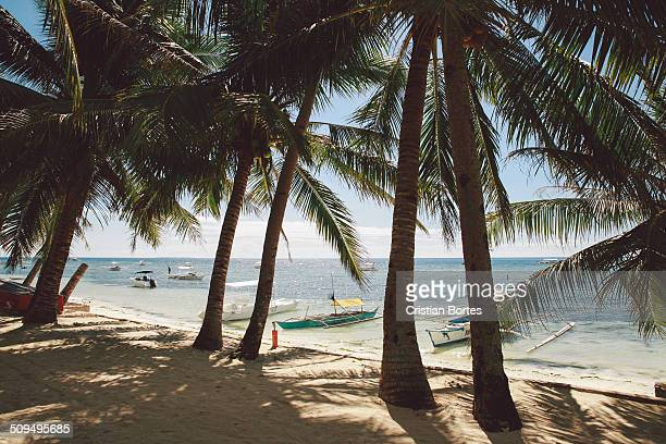alona beach - bortes stock pictures, royalty-free photos & images
