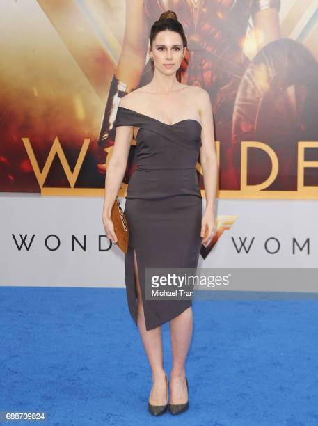 Alona Tal arrives at the Los Angeles premiere of Warner Bros Pictures' 'Wonder Woman' held at the Pantages Theatre on May 25 2017 in Hollywood...