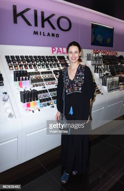 Alona Tal attends Louise Roe For Kiko Milano At Kiko Milano Hollywood Venue on October 14 2017 in Hollywood California