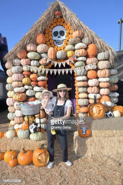 Alona Tal attends The fairlife Family Fun Festival Hosted by fairlife UltraFiltered Milk at Mr Bones Pumpkin Patch on October 15 2018 in Culver City...