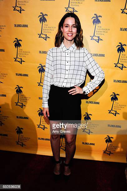 Alona Tal attends the Los Angeles Jewish Film Festival Opening Night Gala on May 18 2016 in Los Angeles California
