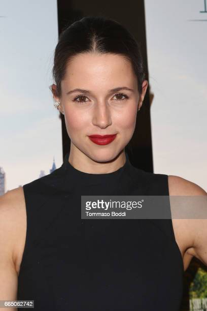 Alona Tal attends the Premiere Of Sony Pictures Classics' 'Norman' at Linwood Dunn Theater at the Pickford Center for Motion Study on April 5 2017 in...