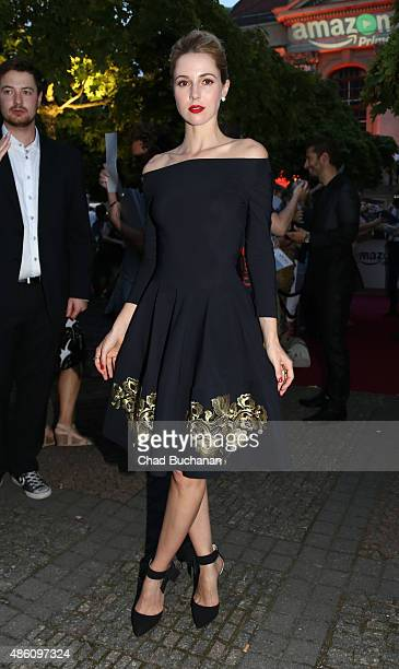 Alona Tal sighted arriving to the 'Hand of God' German Premiere on August 31 2015 in Berlin Germany
