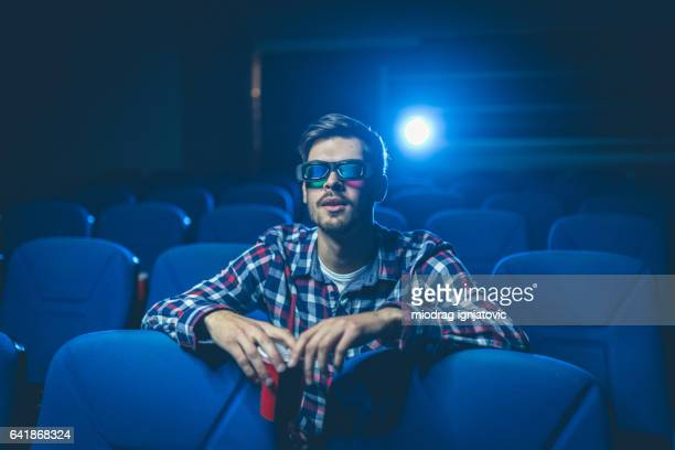 Alone at cinema