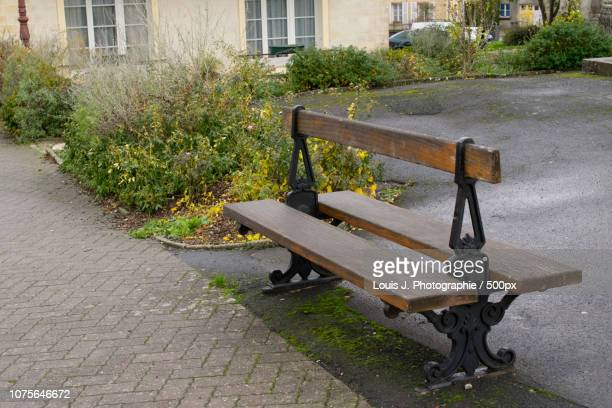 Alone Bench - Normandy