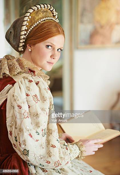 alone in her chambers - tudor stock pictures, royalty-free photos & images
