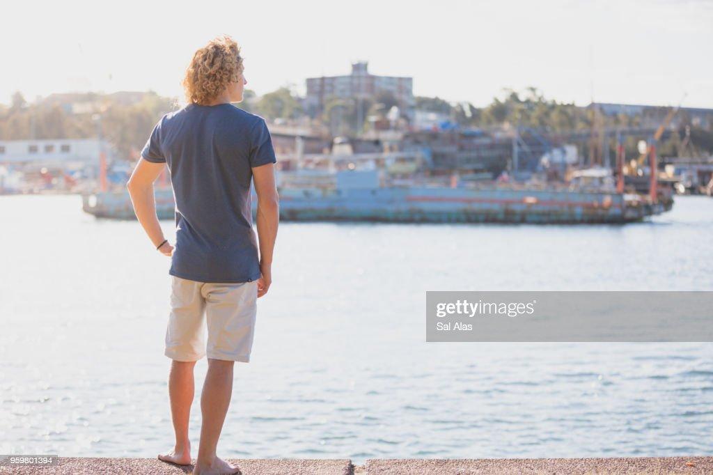 Alone in the park : Stock-Foto