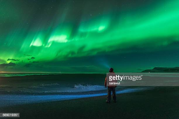 alone (iceland) - marginata stock pictures, royalty-free photos & images