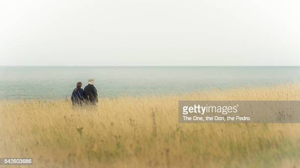 alone together - scarborough uk stock pictures, royalty-free photos & images