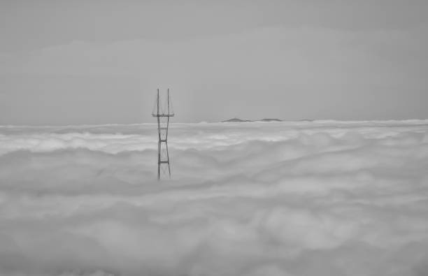 Alone With Only My Thoughts To Keep Me Company - Above San Francisco, CA