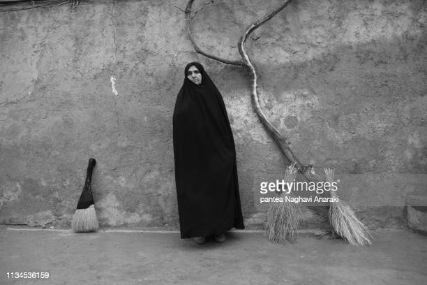 alone woman - iran iraq war stock pictures, royalty-free photos & images
