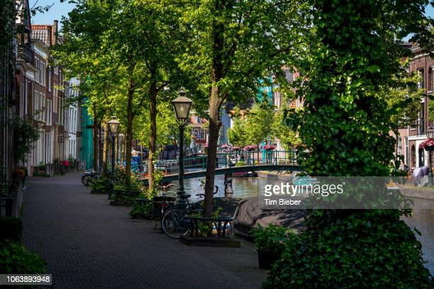 Along the Canals in Leiden