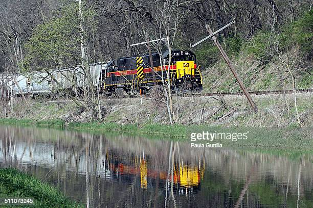 Along the Illinois and Michigan Canal Utica IL Follows the original Rock Island rail line built in 1854