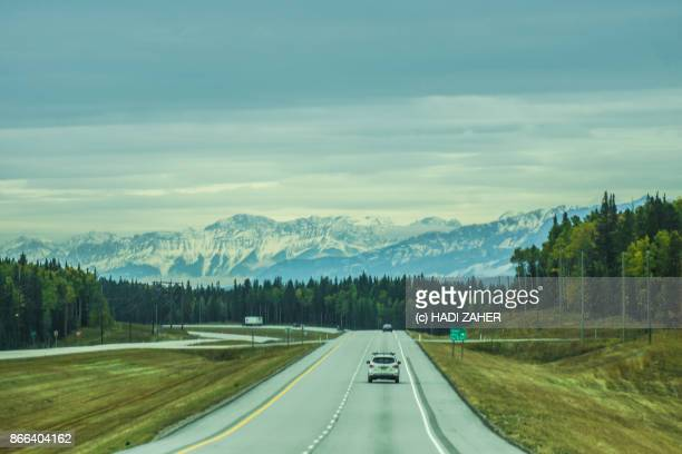 Along the road to Jasper National Park | Rocky Mountains | Alberta | Canada