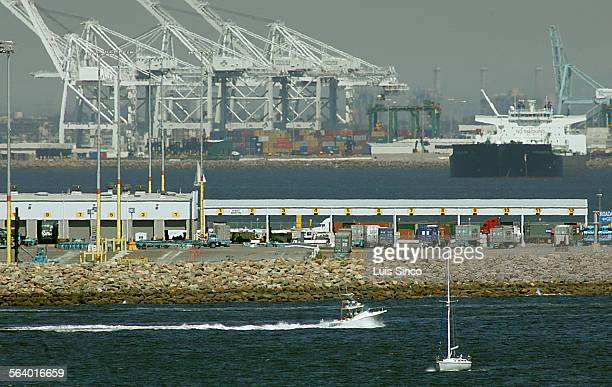 Along this rocky piece of shoreline at Pier 400 on Terminal Island a company called Pacific Energy Partners wants to build a crude oil import...