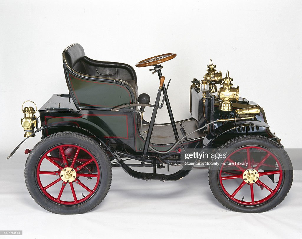 Peugeot Bebe 5 hp motor car, 1901. Pictures | Getty Images