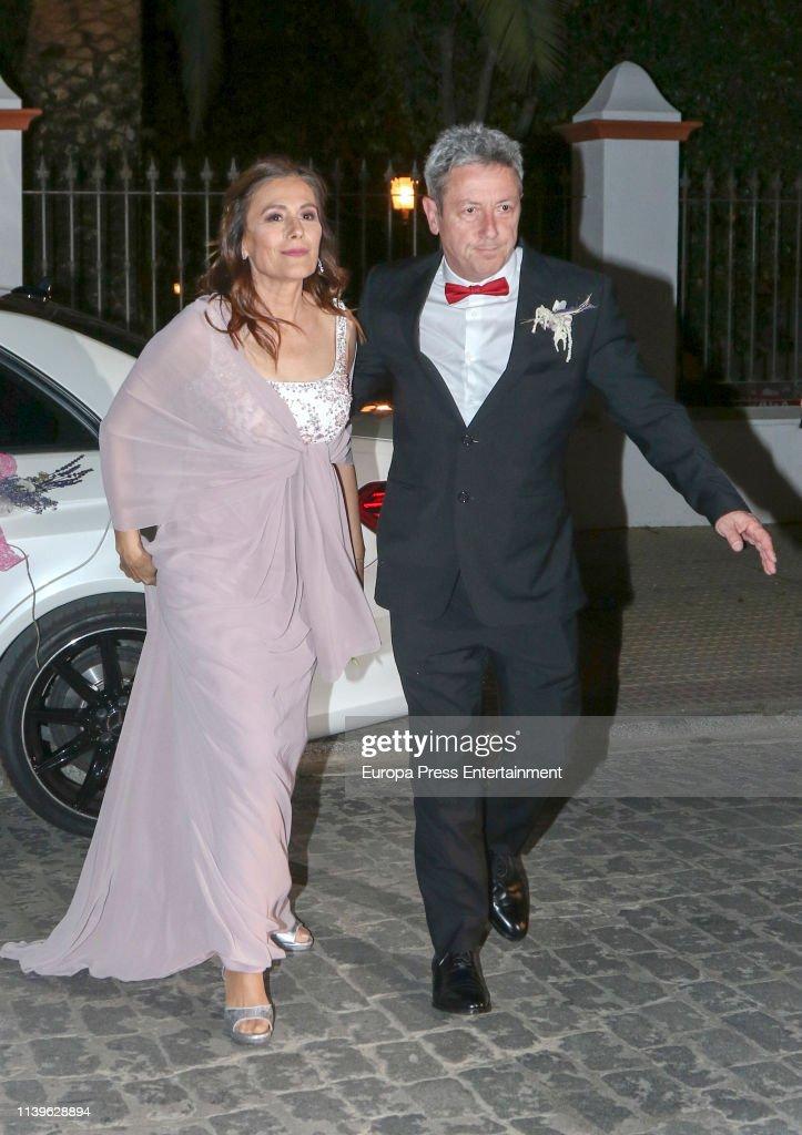 ESP: Alonso Guerrero and Dolores Guerra Wedding in Granja de Torrehermosa