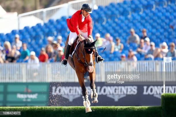 PRADO Alonso riding Chichester 3 during the FEI World Equestrian Games 2018 on September 19 2018 in Tryon United States of America